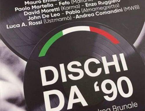 25 agosto – DISCHI DA '90 Francesco Andrea Brunale – LIBRI